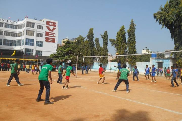 Green Valley English School-Volly Ball Court