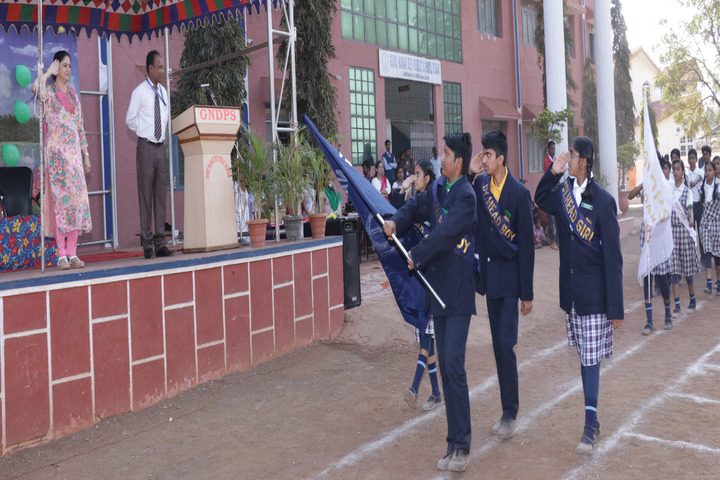 Guru Nanak Dev Public School-Investiture Ceremony
