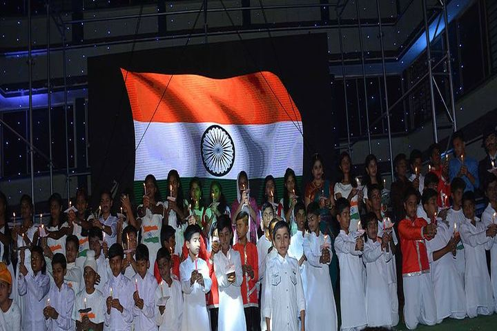 Guru Nanak Public School-Tribute To National Flag