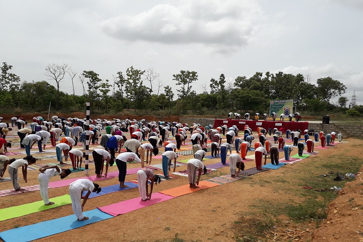Gurukula International School-Yoga Day