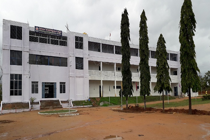 Gurukula International School-School building