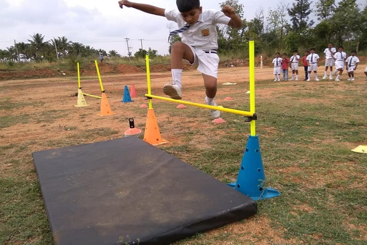 Gurukula International School-Sports High Jump