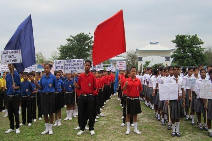 De pauls public school - rally