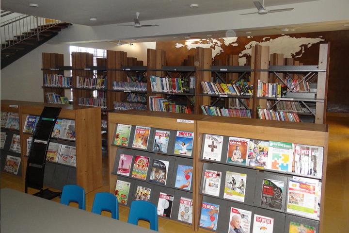 Harsha International Public School-Library