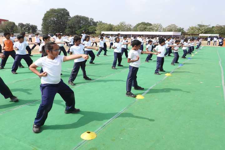 Harvest International School-Karate