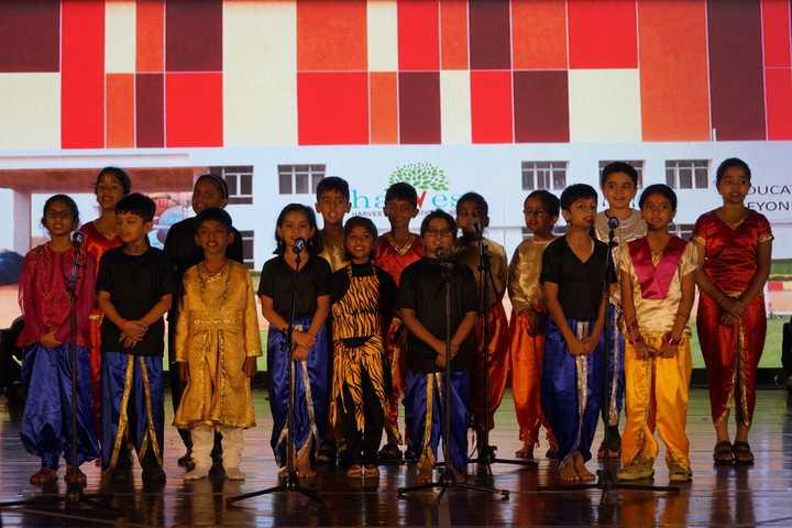 Harvest International School-Singing