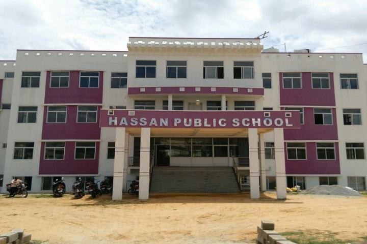 Hassan Public School-School building