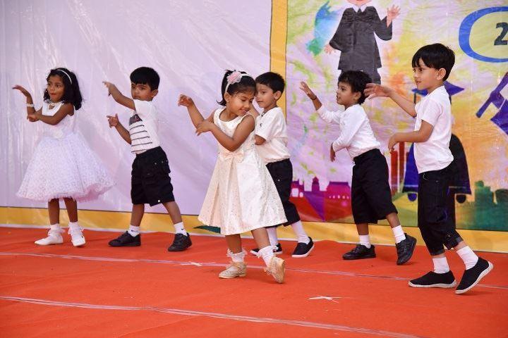 Hill Rock National Public School-Kids Dance