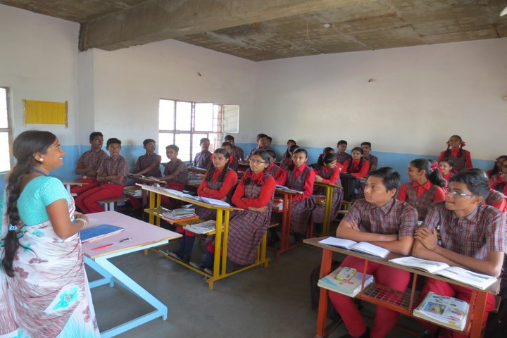 Holy Shephard Higher Primary School-Classroom