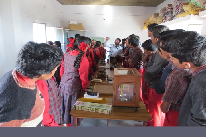 Holy Shephard Higher Primary School-Physics Lab