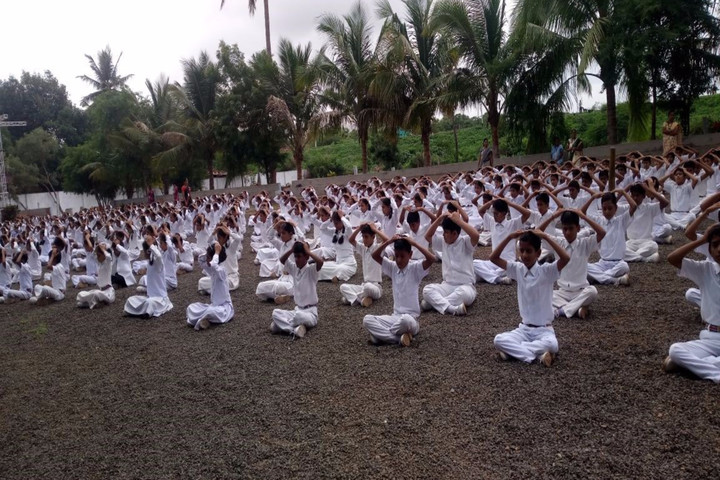Holy Shephard Higher Primary School-Yoga