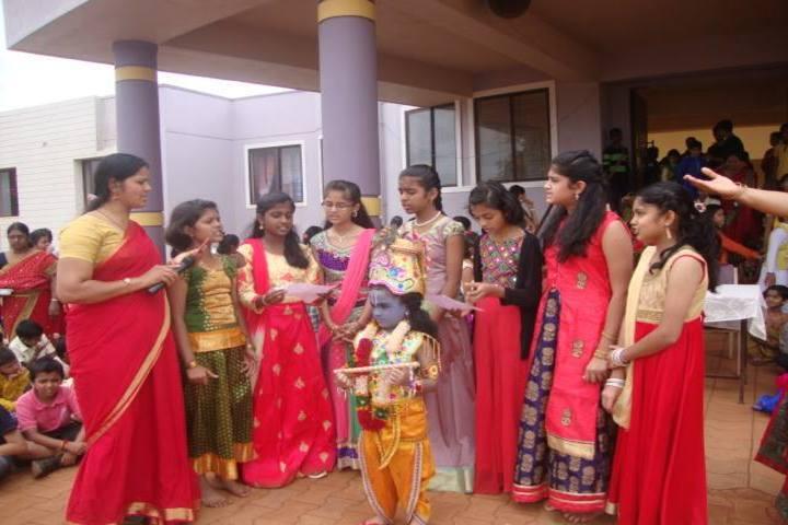 J S S Shri Manjunatheshwara Central School-Janmashtami