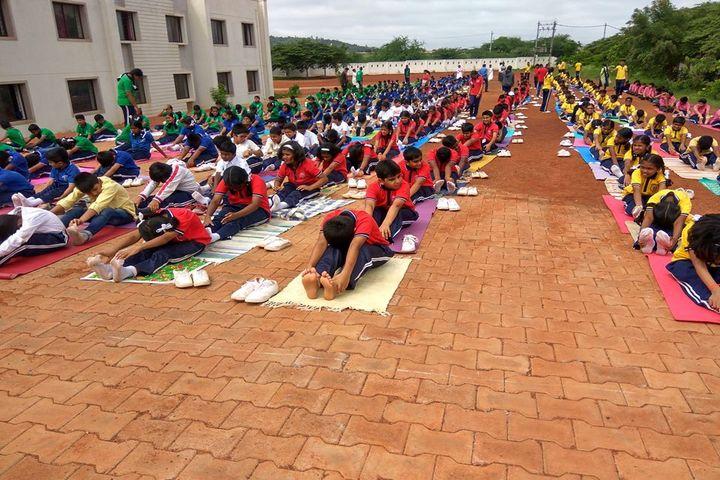 J S S Shri Manjunatheshwara Central School-Yoga