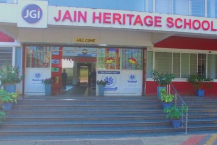 Jain Heritage School-School Front View