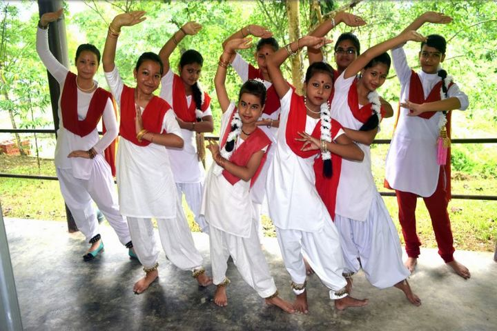 Delhi public school - traditional dance