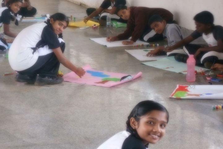 Jain School-Art and Craft