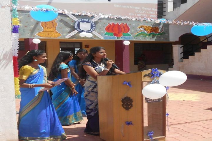 Jain School-Speech
