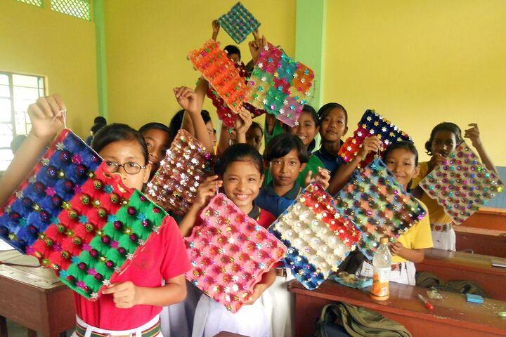 Don bosco school - art and craft