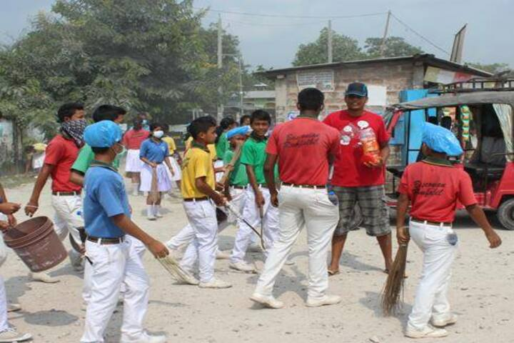 Don bosco school - swachh bharat