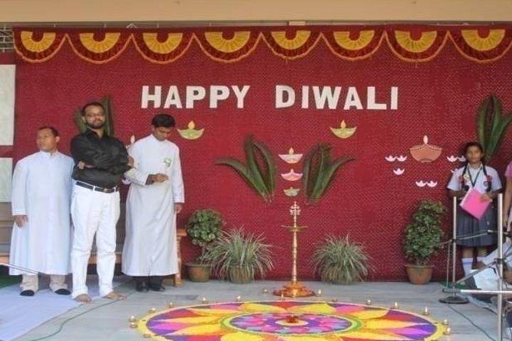 Don Bosco School-Diwali