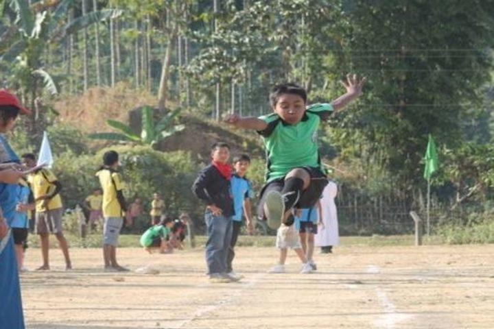 Don Bosco School-Long Jump
