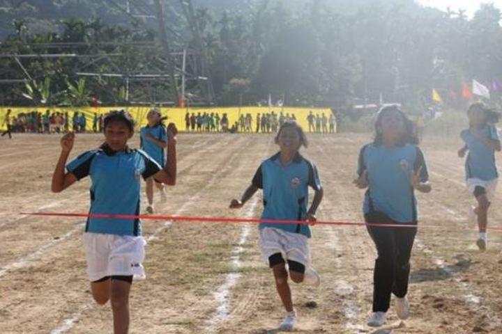Don Bosco School-Running Race