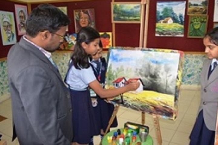 Jss Public School-Painting Room