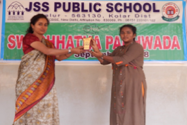Jss Public School-Swachhata Prize Distribution Day