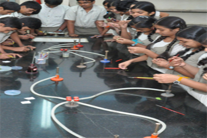 Jyothy Kendriya Vidyalaya-Chemistry Lab