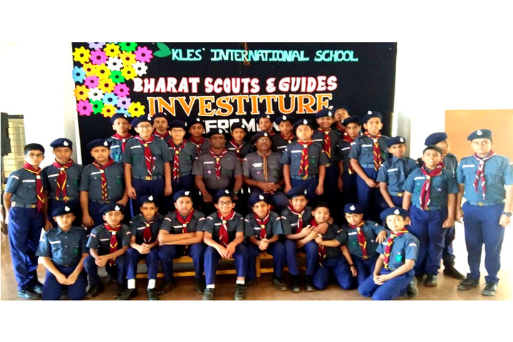 K L E  International School-Scouts
