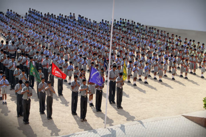 K L E Mahadevappanna Munavalli School- Assembly