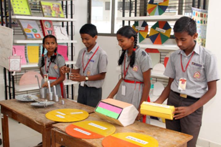 K L E Society School- Maths lab