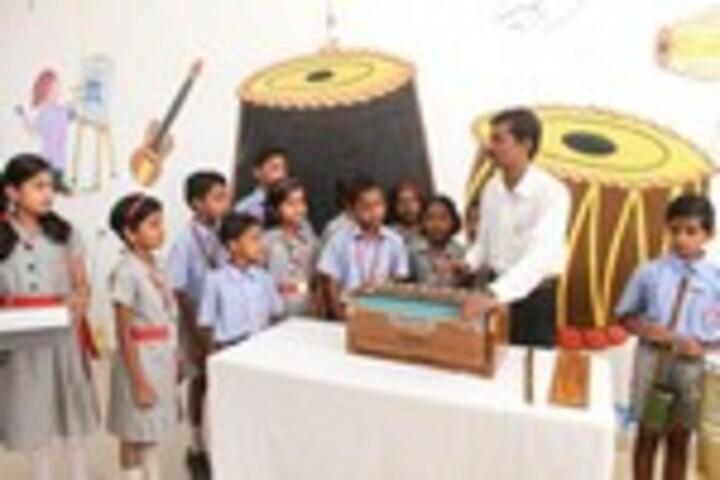 K L E Society School- Music room