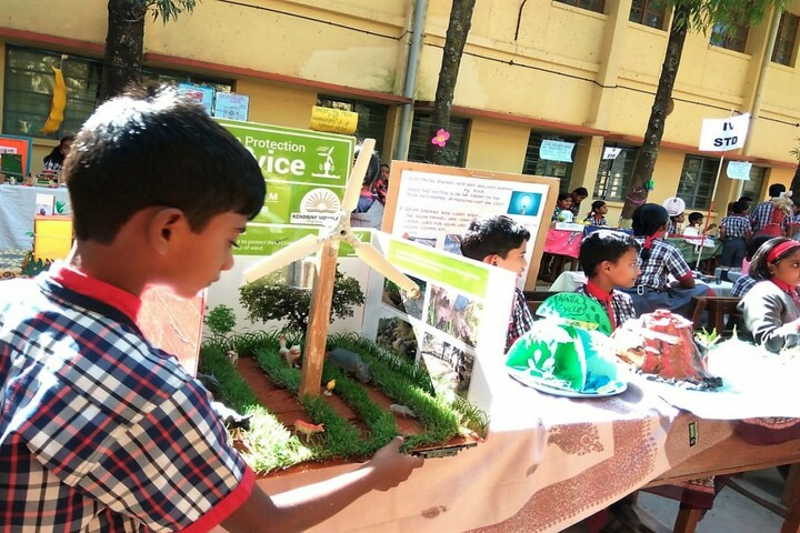Kendriya Vidyalaya- Science Exhibition