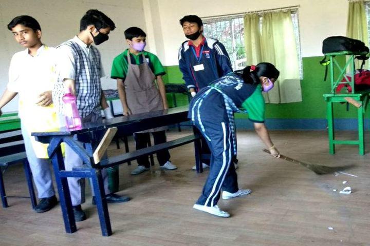 Faculty high school - swacch bharat