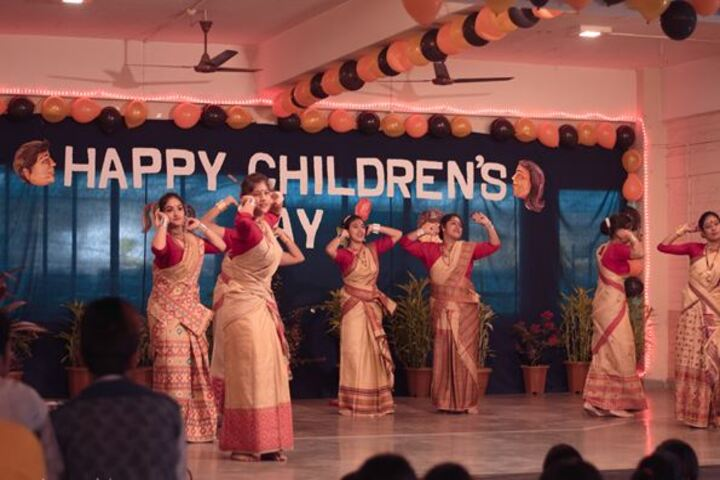 Faculty higher secondary school - childrens day