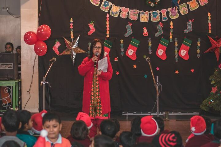 Faculty higher secondary school - christmas