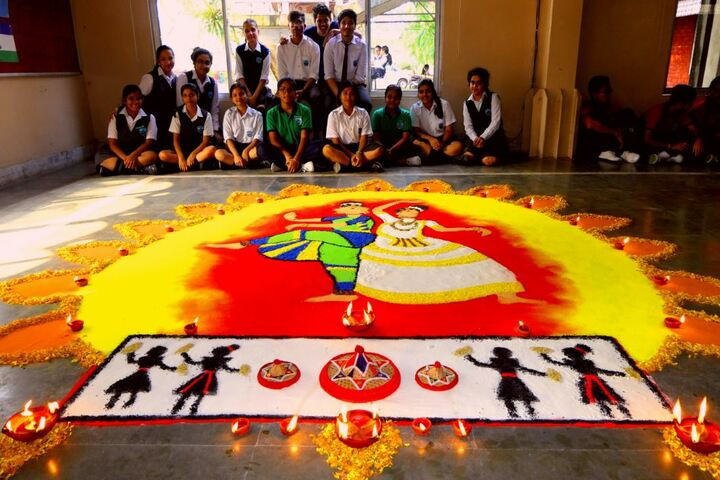 Faculty higher secondary school - rangoli