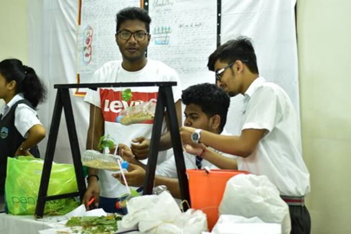 Faculty higher secondary school - science exhibition