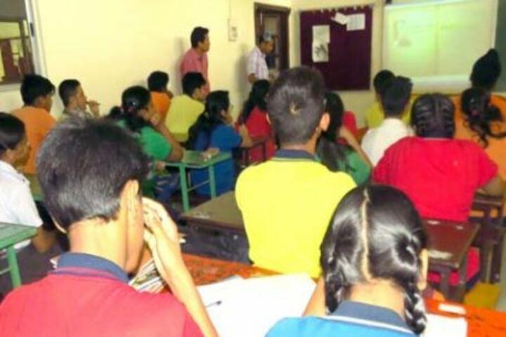 Faculty higher secondary school - smart classroom