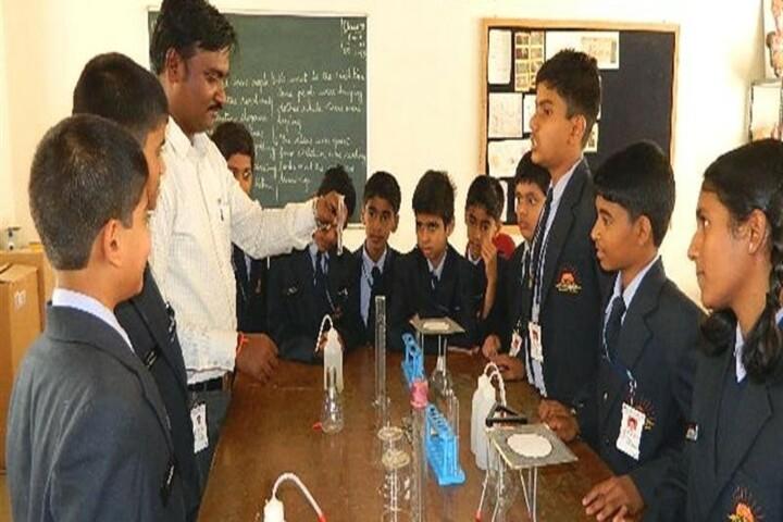 Kls Public School- Chemistry lab