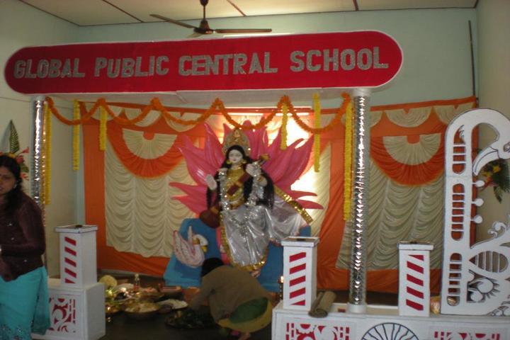 Global public central school - festival celebration