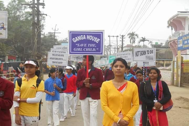 Global public central school - rally