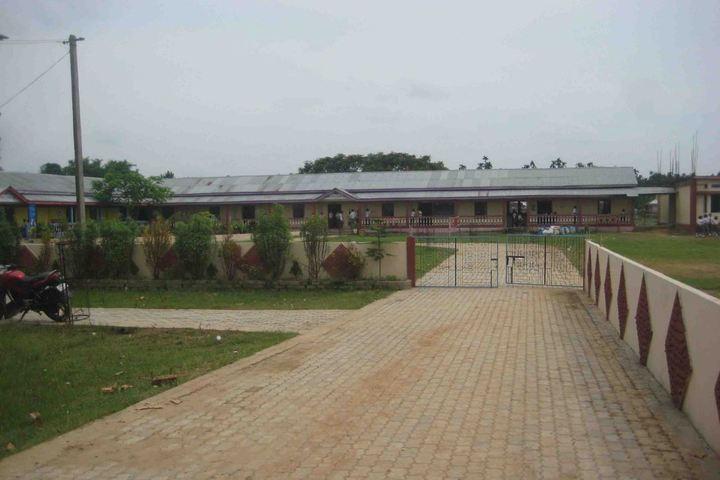 Global public central school - school building