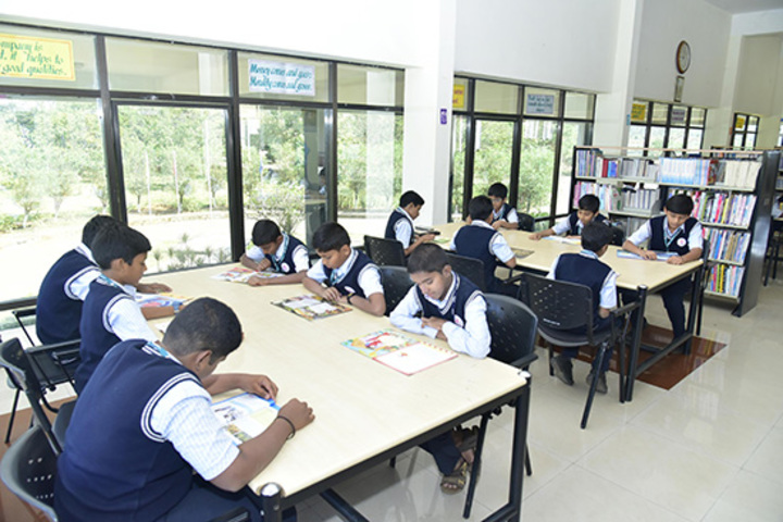 Kumadvathi Residential Central School-Library