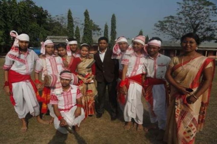 Goalpara English School-Bihu Dance