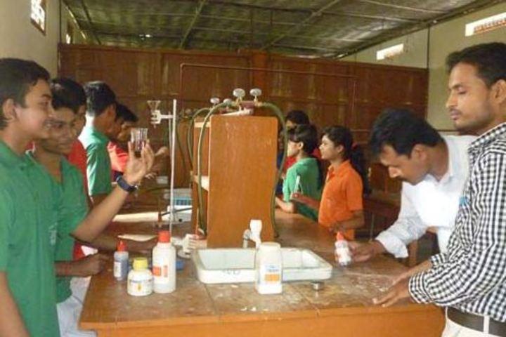 Goalpara English School-Chemistry lab