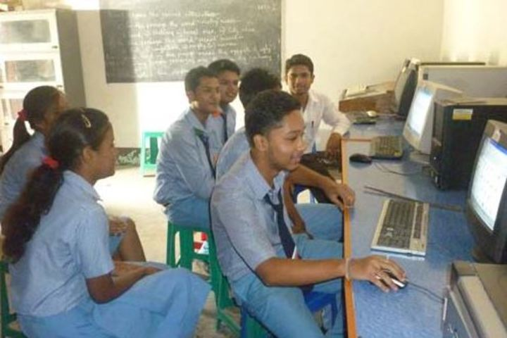Goalpara English School-Computer lab