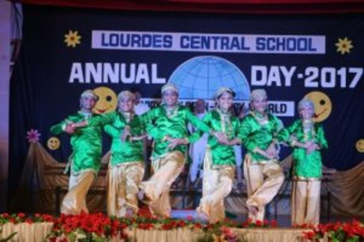 Lourdes Central School-Annual Day