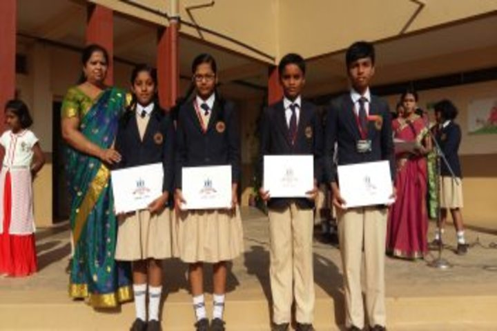 MEC Public School-Prize Distribution